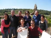 Participants de la trobada del projecte TIRA a Solsona