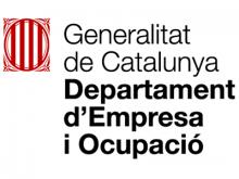 Logotip del Departament d'Empresa i Ocupació de la Generalitat de Catalunya