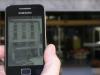 Smartphone fent servir la capa de realitat augmentada de Televall